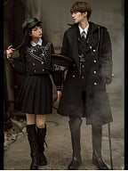Colonel and Translator Ouji Overcoat by YourHighness