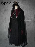 Full Moon Night Nuns Wear Fake Collar Gothic Accessories by YourHighness