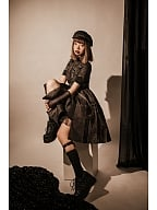 Mega Snake Military Style Lolita Dress OP by YourHighness