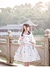 Pre-order Chinese Crane Qi Style Lace-up Back OP by Yotsuba's home