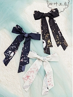 Pre-order Chinese Crane Qi Style Embroidered Hairband by Yotsuba's home