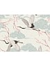 Pre-order Crane and Spring Crossed Collar Short Shawl by Yotsuba's Home