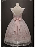 Sweet Lolita Miss Dolce Desserts Bowknot Front on Waist Detachable Waist Tie Back JSK by Your Gift
