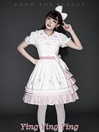 YINGYINGYING Sweet Sakura Lolita Dress JSK by YUPBRO Lolita