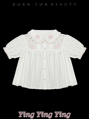 YINGYINGYING Sweet Sakura Lolita JSK Matching Shirt by YUPBRO Lolita