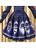 2016 Autumn Fairy Tales Princesses in the Mirror Printed High Waist SK - Fairy Tales by ZHIJINYUAN