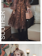 Souther Designed Antique Poetry Yarn Sleeves OP by Zjstory