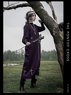 The Pontiff Cross Ouji Long Coat by ZJ Story