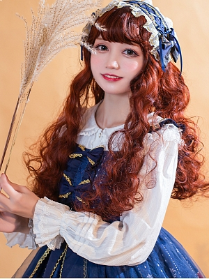 Soft and Sweet Cotton Summer Lolita Blouse by ZHIJINYUAN