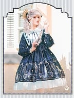 Astrology College Long Sleeves Lolita Dress OP by ZhiJinYuan