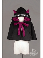 The Butterfly and The Witch Halloween Lolita Cap and Hood - HANA