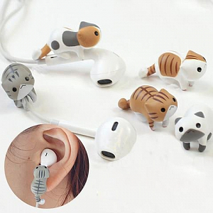 Single Cat Climbing Earphone Clips