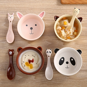 Cartoon Animals Ceramic Bowl