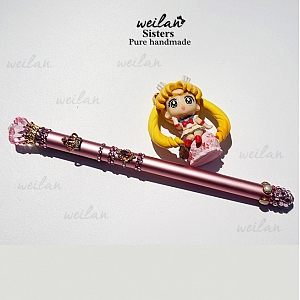 Sailor Moon Faux Gem Decorated Pen