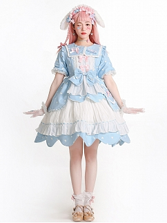 Sanrio Authorized Running Sweetie Lolita Dress OP by Advertising Balloon