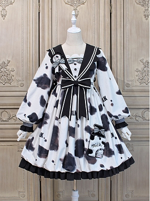 Bud Cow Sweet Lolita Dress OP by Alice Girl