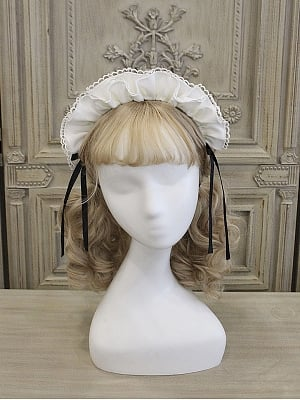 Housekeeper Alice Lolita Dress Matching Hairband by Alice Girl
