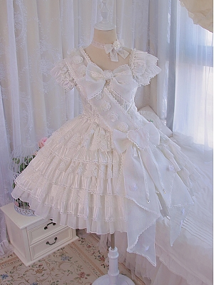 Praise of Spring Hanayome Lolita Dress Matching Ribbon by Alice Girl