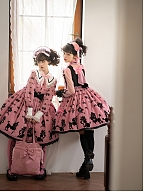 Poodle Series Classic Lolita Dress OP by Angels Heart