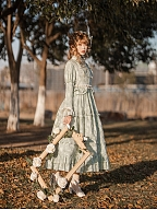 Miss Village Chief Elegant Vintage Floral Dress by Another Walker Lolita