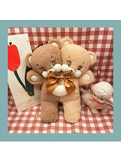 Double Heads Bear Plush Bag by Bully Bunny