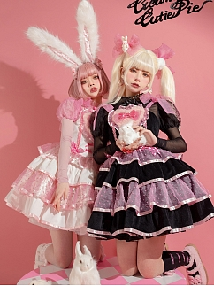 Sweet Bunny Lolita Dress JSK by Creamy Cutie Pie