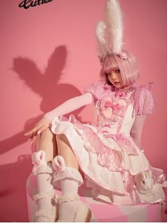 Sweet Bunny Tulle Lolita Top by Creamy Cutie Pie