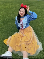 Plus Size Fairy Tale Dream Snow White Dress by Cheese Day