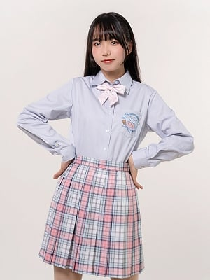 Sanrio Authorized Cinnamoroll JK Uniform Long Sleeves Pointed Collar Shirt by KYOUKO