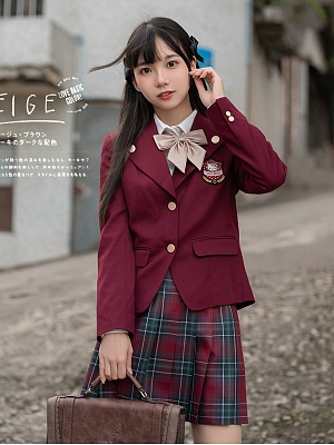 Sanrio Authorized Lapel Collar Suit Jacket by KYOUKO