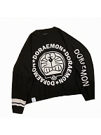 Doraemon Authorized Black Loose Sweater by No Worries
