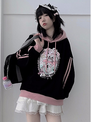 Sanrio Authorized My Melody Sweet Hoodie by MiTang Baby
