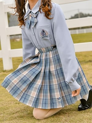 Disney Authorized Eeyore Plaid JK Skirt by Mori Tribe