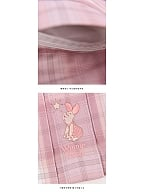 Disney Authorized Piglet Pink Plaid JK Skirt by Mori Tribe