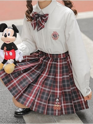 Disney Authorized Mickey Mouse JK Uniform Shirt by Mori Tribe