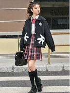 Disney Authorized Mickey Mouse Polo Collar Jacket by Mori Tribe