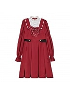 Disney Authorized Mickey Mouse Red Dress by Mori Tribe