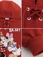 Disney Authorized Mickey Mouse Red Hoodie by Mori Tribe