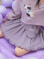 Disney Authorized Minnie Mouse Purple Mini Skirt by Mori Tribe
