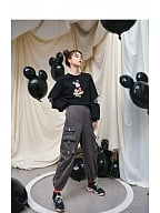 Disney Authorized Mickey Mouse Gray Cool Sweatpants by Mori Tribe