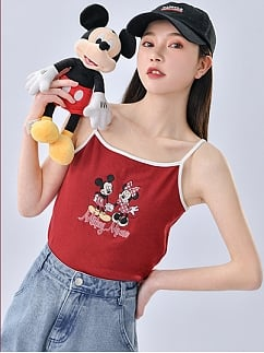 Disney Authorized Summer Party Cami Top by Mori Tribe