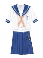 Disney Authorized Donald Duck Sailor Collar Top / Pleated Skirt Set by Mori Tribe