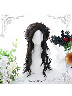 Maple Syrup Long Slightly Curly Synthetic Lolita Wig by Dalao Home