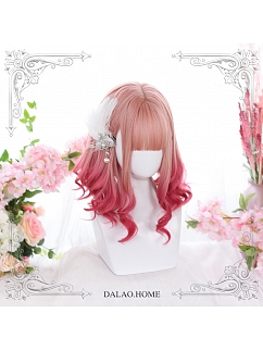 Short Small Roman Curly Synthetic Lolita Wig by Dalao Home