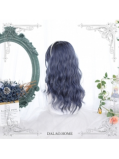 Mid-length Curly Egg Roll Synthetic Lolita Wig by Dalao Home