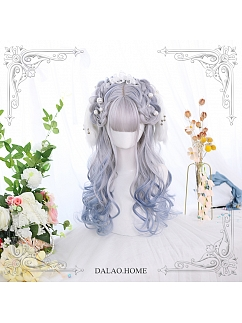 Irregular Long Curly Synthetic Lolita Wig by Dalao Home