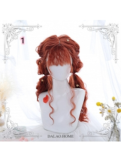 Fairy Godmother Long Wool Curly  Synthetic Lolita Wig by Dalao Home