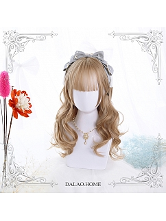 Melissa Mid-length Curly Synthetic Lolita Wig by Dalao Home