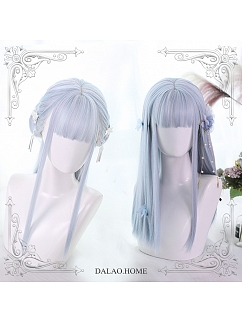 Long Straight Synthetic Lolita Wig by Dalao Home