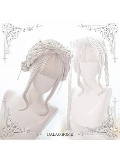Moonstone Long Double Ponytail Synthetic Lolita Wig by Dalao Home